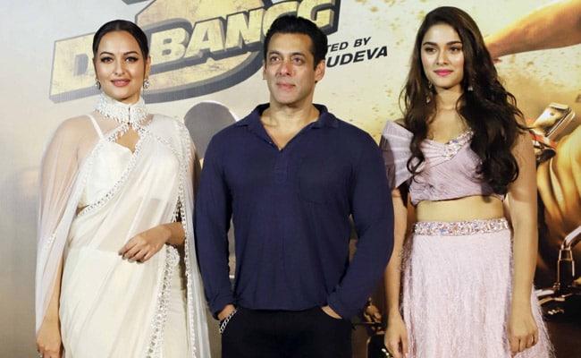 Inside The Trailer Launch Of Dabangg 3 With Salman Khan, Sonakshi Sinha And Saiee Manjrekar. See Pics