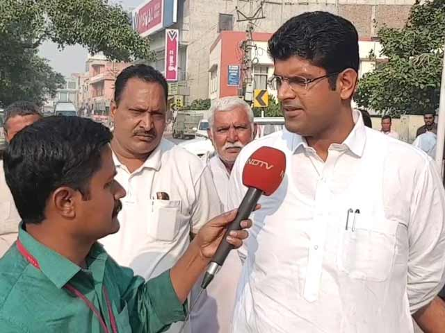 """Video : """"The Key To Haryana Assembly Is With JJP"""": Dushyant Chautala To NDTV"""