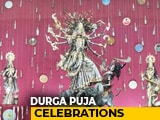 Video: Delhi's One-Of-A-Kind Durga Puja Pandal Where Idols Are Made Of Recycled Materials
