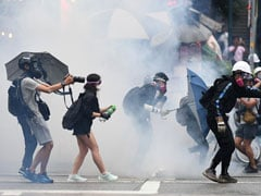 Hong Kong Police Fire Tear Gas As Thousands Defy Mask Ban To Protest