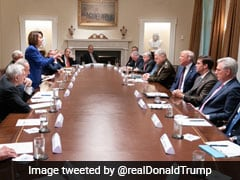"""Meltdown"" In White House Meeting On Syria As Trump, Nancy Pelosi Clash"