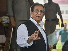 "Accused Of Stealing ""Goats, Hens"", Azam Khan Breaks Down At UP Rally"