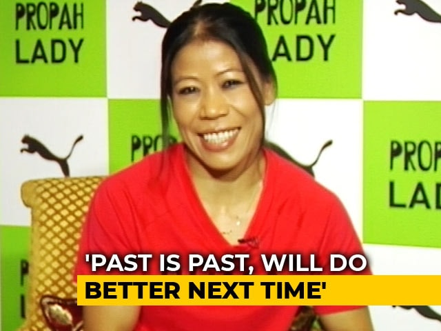 Video : Not Happy With The Semi Final Bout Decision: Mary Kom