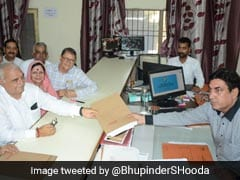 Congress's Bhupinder Hooda, After Havan, Files Haryana Polls Nomination