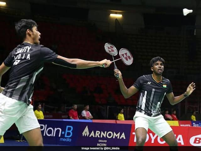 Satwiksairaj Rankireddy-Chirag Shetty Lose French Open Final
