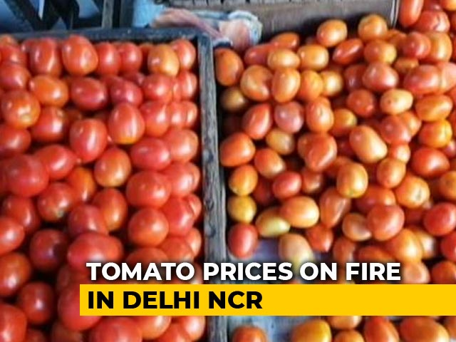 Video : After Onion, Now Tomato Price Touches Rs. 70/Kg In Delhi