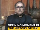 Video : Congress Does Not Have Space For Sardar Patel: Nirmal Singh To NDTV