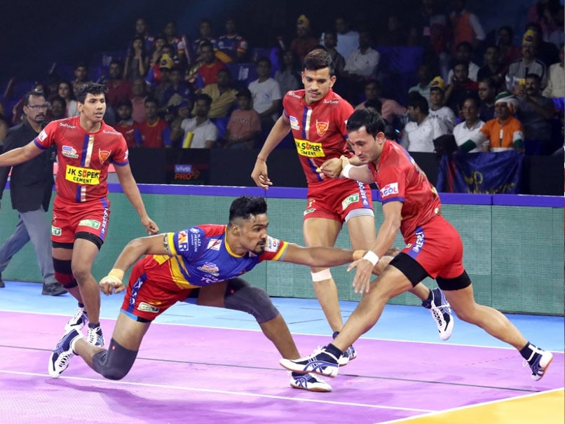 Pro Kabaddi: UP Yoddha Thrash Dabang Delhi, Gujarat Fortunegiants Beat Patna Pirates