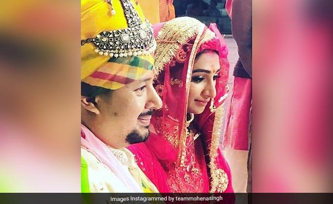 Check out Yeh Rishta Kya Kehlata Hai actress Mohena Kumari's marriage pictures