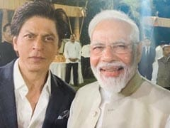 Shah Rukh Khan, Others Share Pics From PM Modi's Gandhi Event