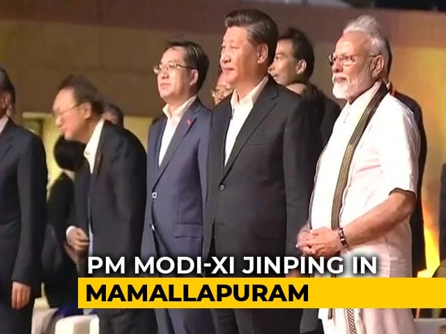 Video : PM Modi, Xi Attend Cultural Event At Temple In Mamallapuram