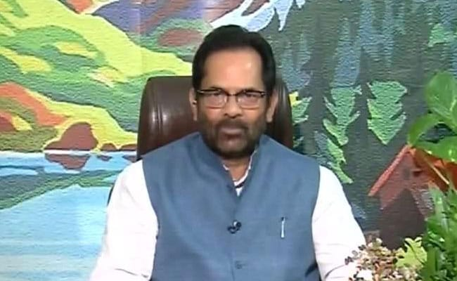 Fake Federations Of Fatwa Are Enemies Of Humanity: Mukhtar Abbas Naqvi