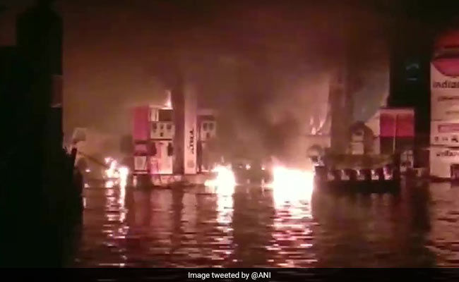Fire Breaks Out At Patna Petrol Pump, No Casualties Reported Yet