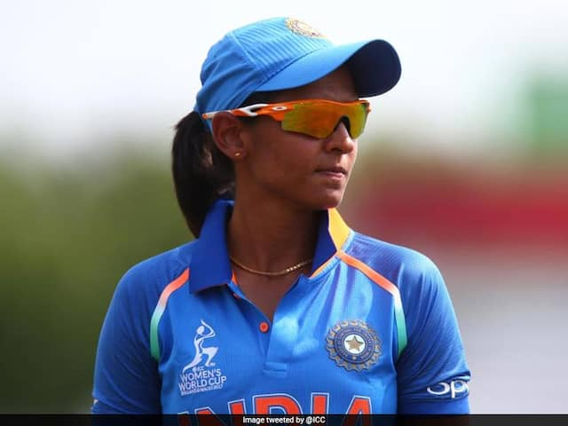 Harmanpreet Kaur Becomes First Indian To Play 100 Twenty20 Internationals