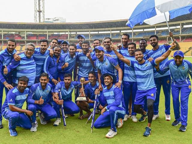 Vijay Hazare Trophy: Karnataka Beat Tamil Nadu By 60 Runs In Final