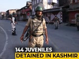 Video : 9-Year-Olds Among Minors Detained, J&K Says Not Illegal, Top Court Told
