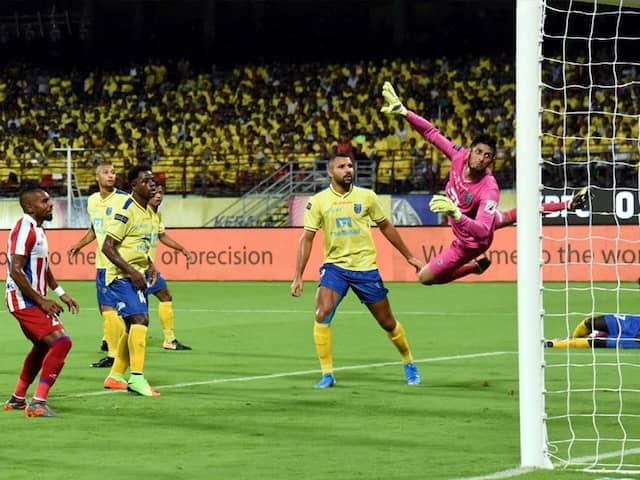 ISL: Bartholomew Ogbeche Helps Kerala Blasters Beat ATK 2-1 In Opener