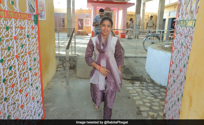 Haryana Election 2019: Babita Phogat Cast Vote, Vows To Promote Sports If Elected