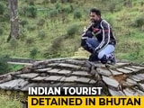 Video : Indian Tourist On Camera Climbing Stupa In Bhutan Sparks Anger, Detained