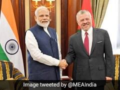 PM Narendra Modi, Jordan's King Abdullah II Meet In Riyadh, Aim To Deepen India-Jordan Ties