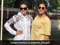How Babita Phogat, BJP Candidate In Haryana, Surprised Sister Geeta