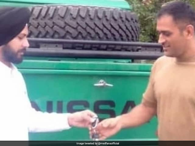 MS Dhoni Adds Jonga To His Collection Of Cars: Report