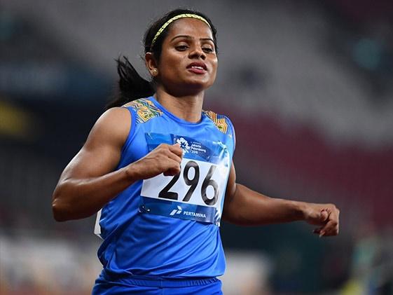 ओलिंपिक तैयारियों को लेकर स्टार एथलीट Dutee Chand ने लगाया यह आरोप