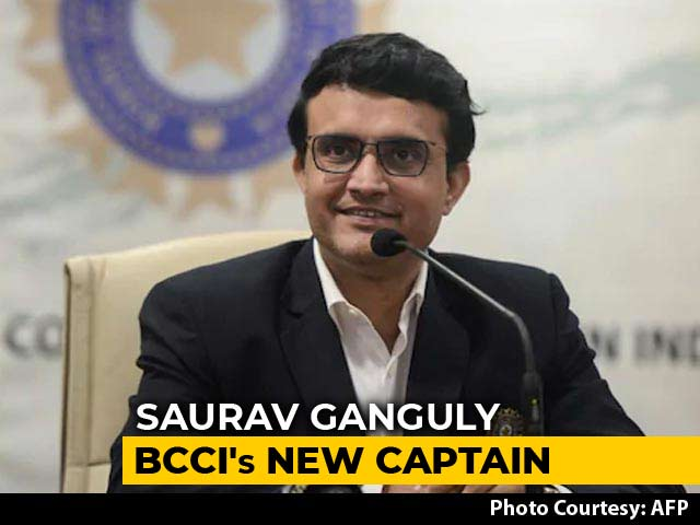 "Video : ""Champions Don't Finish Very Quickly"": Sourav Ganguly On MS Dhoni"