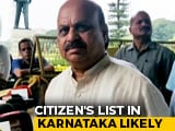 Video : Karnataka Government Considering Implementing Citizens' List: Minister
