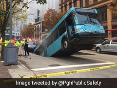 A Bus Fell Down A Sinkhole, And Then The Memes Began...