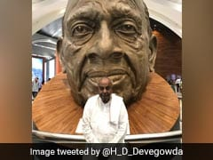 "HD Devegowda Visits ""Statue Of Unity"", PM Modi Tweets ""Happy To See Him"""