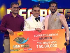 <i>Bigg Boss Tamil 3</i> Grand Finale, Written Update, October 6: Kamal Haasan Announces The Winner - Mugen Rao