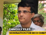 Video : Sourav Ganguly To Be Next BCCI President