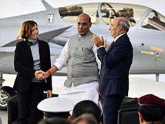 At Handover Ceremony, Rajnath Singh Reveals What Rafale Means