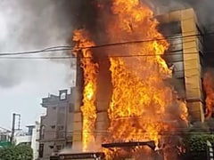 Fire Engulfs Hotel In Indore, Miraculous Escape For Guests