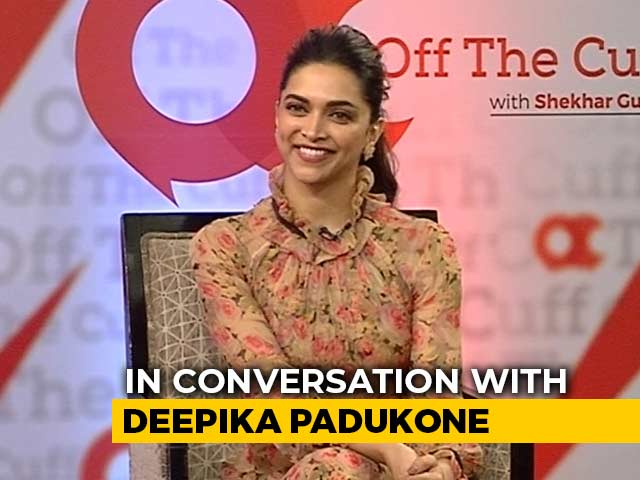 "Video : ""Want To Help People Like Me"": Deepika Padukone On Anxiety"