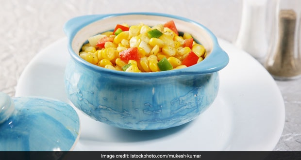 Watch: Prepare This Grilled Spicy Corn Chaat For Your Next Evening Binge