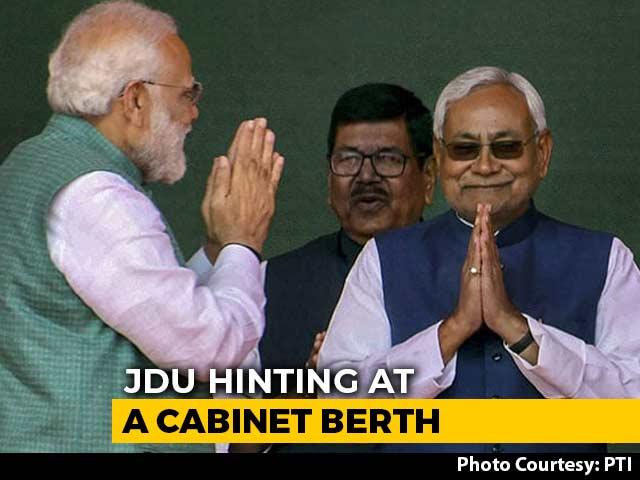 Video : As Sena, BJP Wrestle For Maharashtra, A Signal From Nitish Kumar