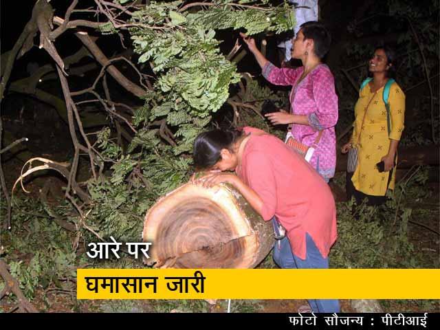 Videos : न्यूज नॉन स्टॉप: आरे में पेड़ों की कटाई जारी, करीब एक हजार पेड़ काटे गए