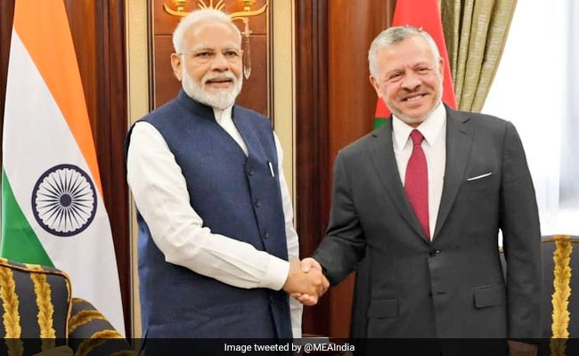 PM Narendra Modi, Jordan's King Abdullah II Meet In Riyadh, Aim To Deepen India-Jordan Ties