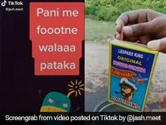 TikTok Top 5: टिकटॉक पर छाया पानी के अंदर फटने वाला पटाखा, देखें Viral Video