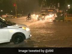Delhi Rain: दिल्ली-NCR में बदला मौसम का मिजाज, कई इलाकों में जोरदार बारिश, उड़ानों और ट्रैफिक पर असर