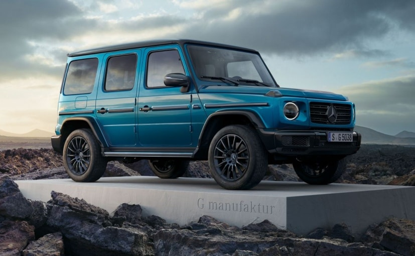 The G Manufaktur customisation prorgramme will extend to the G63 AMG as well