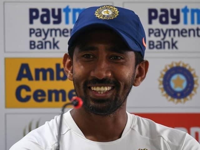 "India vs South Africa: Wriddhiman Saha Says He Has ""Good Understanding, Co-ordination"" With Rishabh Pant"