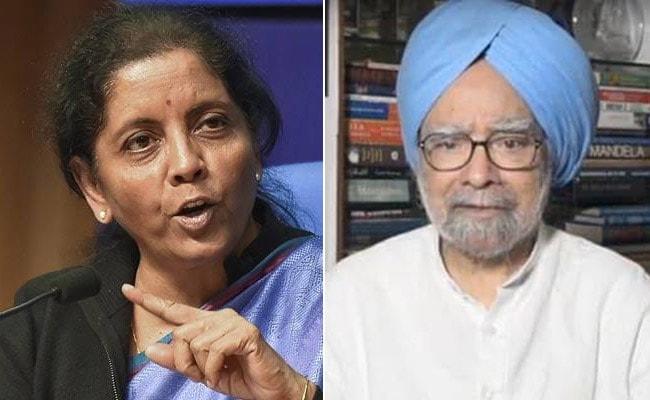 निर्मला सीतारमण का मनमोहन सिंह को जवाब, बोलीं- किसी खास अवधि में कब और क्या गलत हुआ, इसे याद करना बेहद जरूरी