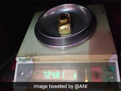 Gold Paste Worth Over Rs 27 Lakh Seized At Hyderabad Airport