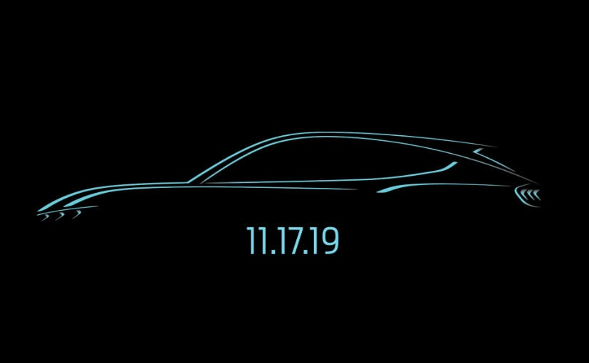 The Ford Mustang-inspired electric SUV breaks cover on November 17 at LA Auto Show