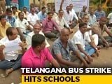Video : BJP Takes Telangana Transport Employees' Strike Issues With Governor