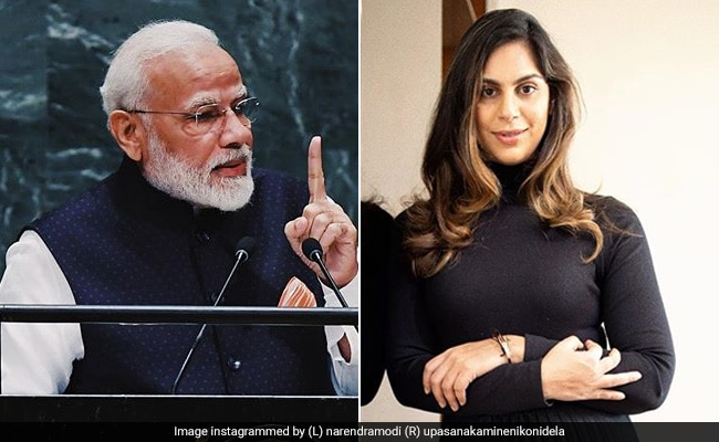 नरेंद्र मोदी ने बॉलीवुड हस्तियों संग की मुलाकात तो साउथ के सुपरस्टार रामचरण की वाइफ ने PM से कर डाला यह सवाल