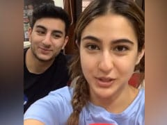 Sara Ali Khan Goofing Around With Brother Ibrahim Will Make You ROFL